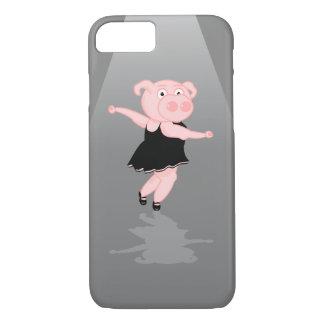 Capa iPhone 8/7 Dançarino de balé do porco