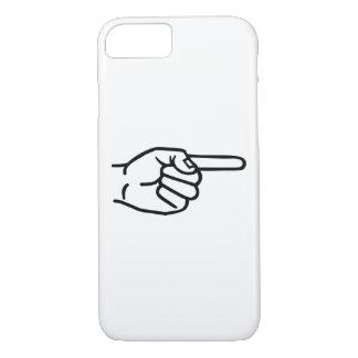 Capa iPhone 8/7 Dedo da mão