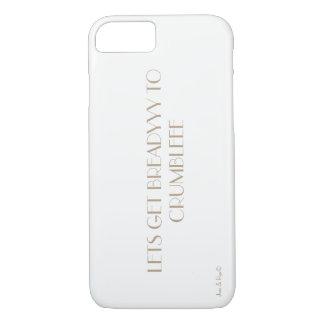 Capa iPhone 8/7 Deixe-nos conseguir breadyyy desintegrar-se!