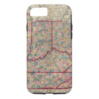 Capa iPhone 8/7 Delaware, Illinois, Indiana, e Iowa