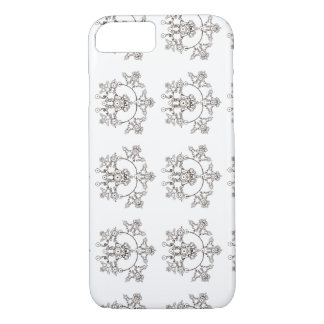 Capa iPhone 8/7 Design de cristal preto