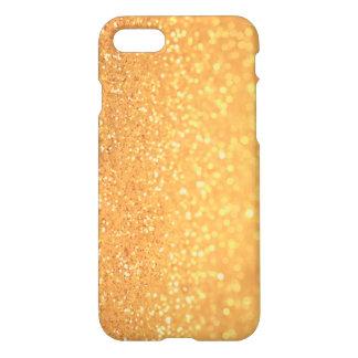 Capa iPhone 8/7 Design elegante do brilho do ouro