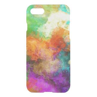 Capa iPhone 8/7 Design moderno da textura colorida multicolorido