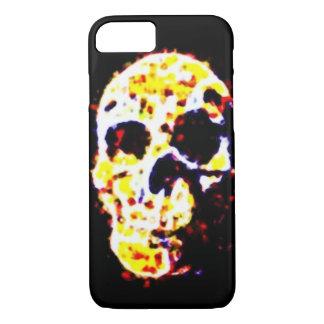 Capa iPhone 8/7 Design multicolorido do cobrir do crânio
