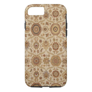 Capa iPhone 8/7 Design persa floral Tawny da tapeçaria do Umber