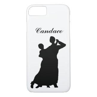 "Capa iPhone 8/7 Do ""o casal salão de baile"" personalizou a caixa"