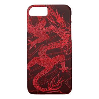 Capa iPhone 8/7 Dragão chinês do fogo