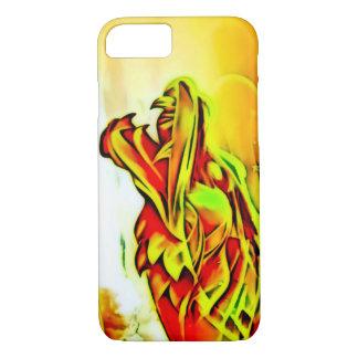 Capa iPhone 8/7 Dragão do chinês do ouro