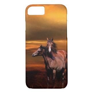 Capa iPhone 8/7 Égua e cavalo novo
