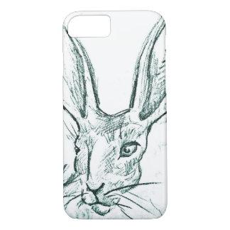 Capa iPhone 8/7 Esboço do coelho de Jack