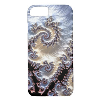 Capa iPhone 8/7 Espirais do Fractal da porcelana