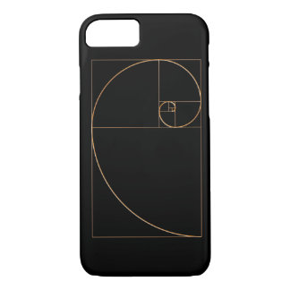 Capa iPhone 8/7 Espiral do ouro do ouro