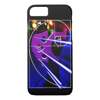 Capa iPhone 8/7 Espiral do violoncelo e do Fibonacci