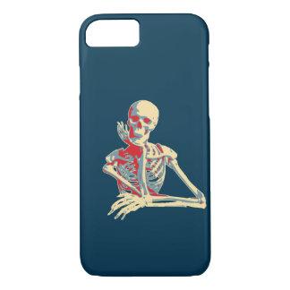 Capa iPhone 8/7 Esqueleto retro
