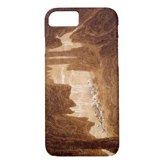 Capa iPhone 8/7 Esqueletos em um exemplo do iPhone 7 da caverna