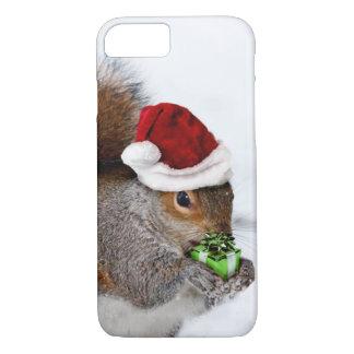 Capa iPhone 8/7 Esquilo do Natal
