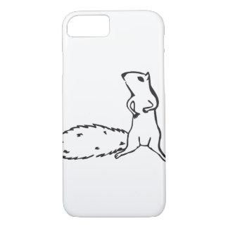 Capa iPhone 8/7 Esquilo pequeno bonito