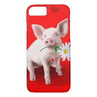 Capa iPhone 8/7 Este porco no caso do iPhone 7 do amor