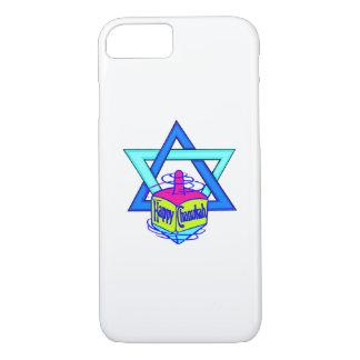 Capa iPhone 8/7 Estrela de David de Hanukkah