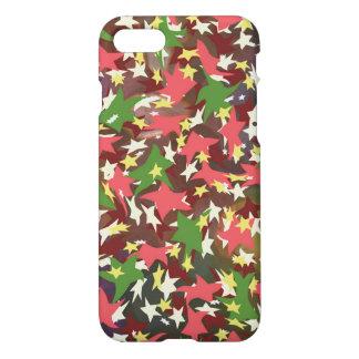 Capa iPhone 8/7 Estrelas de roda coloridas bonitas