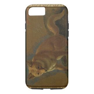 Capa iPhone 8/7 Estudo de um Fox (óleo no painel)