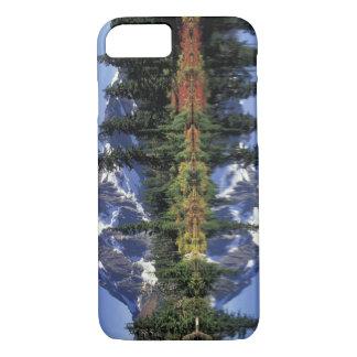 Capa iPhone 8/7 EUA, WA, RA dos prados da urze. Montagem Shuksan