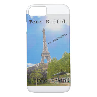 Capa iPhone 8/7 Excursão Eiffel do La