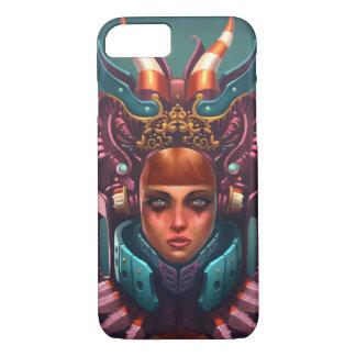 Capa iPhone 8/7 Exemplo da rainha de Rashah