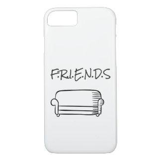 Capa iPhone 8/7 Exemplo de Iphone 7 dos amigos