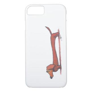 Capa iPhone 8/7 Exemplo do Dachshund