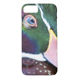 Capa iPhone 8/7 exemplo do pato de madeira