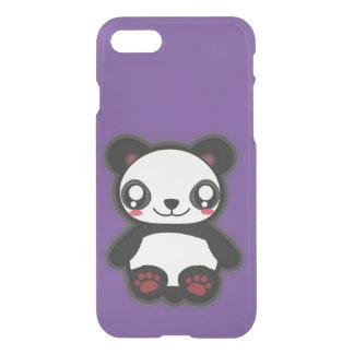 Capa iPhone 8/7 Exemplo engraçado da panda de Kawaii para iphone7