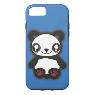 Capa iPhone 8/7 Exemplo engraçado da panda de Kawaii para o
