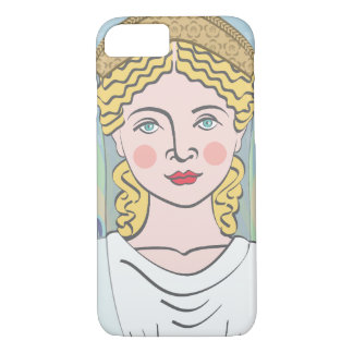 Capa iPhone 8/7 Exemplo romano de Juno Matryoshka da deusa