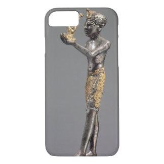 Capa iPhone 8/7 Faraó que faz um oferecimento antes da deusa Maat