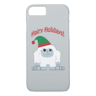 Capa iPhone 8/7 Feriados peludos! Yeti do Natal