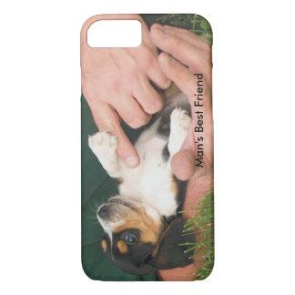 Capa iPhone 8/7 Filhote de cachorro do melhor amigo do homem