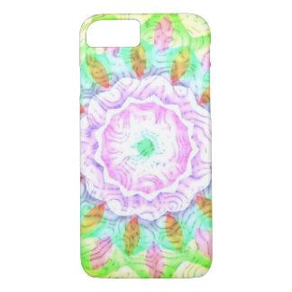 Capa iPhone 8/7 Flor multicolorido do caleidoscópio dos