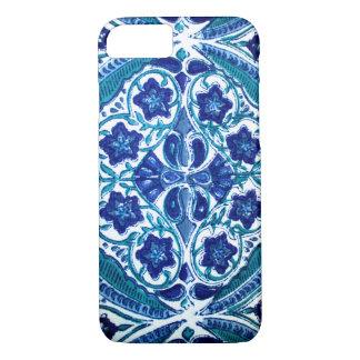 Capa iPhone 8/7 Floral azul