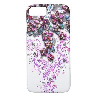 Capa iPhone 8/7 Flores de conexão em cascata - confetes da