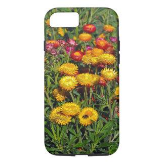 Capa iPhone 8/7 Flores vermelhas e amarelas do botão