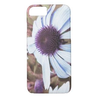 Capa iPhone 8/7 floresce a violeta retro