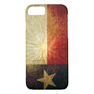 Capa iPhone 8/7 Fogo-de-artifício da bandeira de Texas