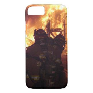 Capa iPhone 8/7 Fogo de combate ao fogo da estrutura
