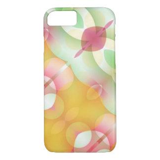 Capa iPhone 8/7 Fractal geométrico multicolorido moderno