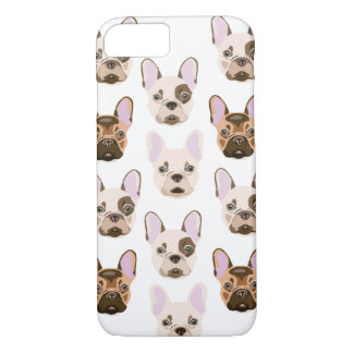 Capa iPhone 8/7 Frenchies coloridos