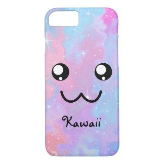Capa iPhone 8/7 Fundo Pastel do espaço de Kawaii Colorfull