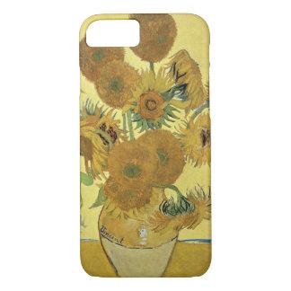 Capa iPhone 8/7 Girassóis de Vincent van Gogh |, 1888