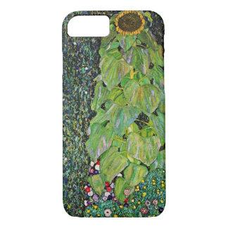 Capa iPhone 8/7 Girassol de Gustavo Klimt