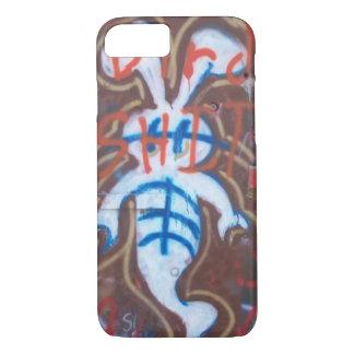 Capa iPhone 8/7 Grafites do coelho do fantasma